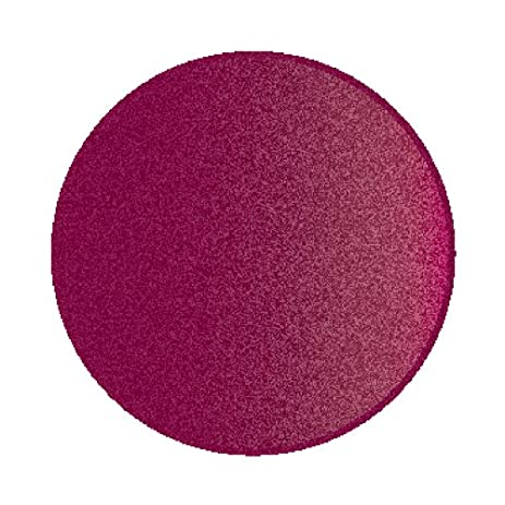 Wonderful Learning Carpets Solid Cranberry Round Rug, Small/6u00276u0026quot; Round Diameter