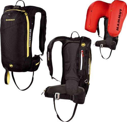 Mammut Lawinenairbag Rocker Protection Airbag, Black-Yellow, 50 x 25 x 20 cm, 2610-00741-0073