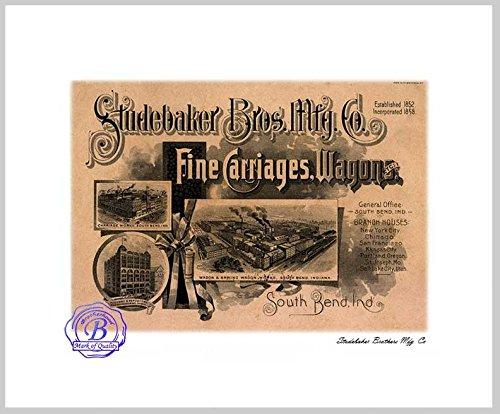 Studebaker Bros. Mfg Carriages, Wagon 8x10 Print - Studebaker Wagon