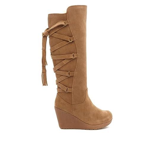d685c55c0c6 BEARPAW Womens Britney Wedge Boot  Amazon.ca  Shoes   Handbags