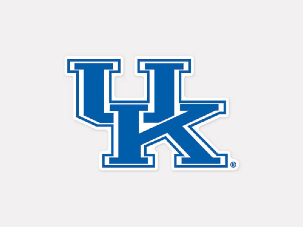 4 x 4 NCAA University of Kentucky 70898011 Perfect Cut Color Decal