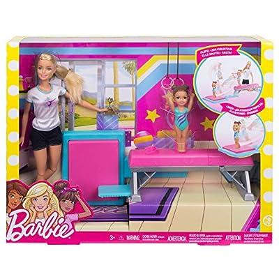 Barbie Flippin Fun Gymnast [ Exclusive]: Toys & Games