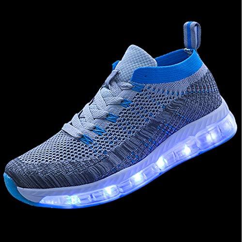 ZHZNVX Damen Schuhe Tüll Frühling Herbst Leuchten Schuhe Schuhe Schuhe Turnschuhe Runde Zehe grün schwarz   blau Royal Blau a6e479