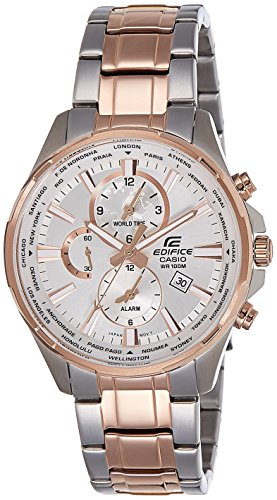 7a Edifice Mens Watch (Casio Edifice Mens Analog Business Rose Gold Ion Plated Watch EFR-304SG-7A)