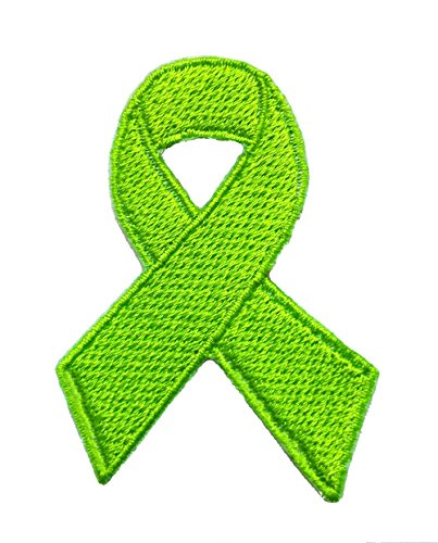Childhood Depression/Missing Children Awareness Ribbon Embroidered Sew/Iron On Patch 2.5