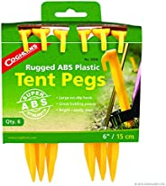 Coghlan's ABS Tent Pegs, 6-Inch, Pack