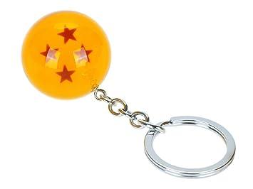 CoolChange Llavero de Dragon Ball, 4 Estrellas: Amazon.es ...