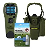 Thermacell Camper's Kit : Mosquito Repellent Appliance Olive, Holster Olive + 4 single refills