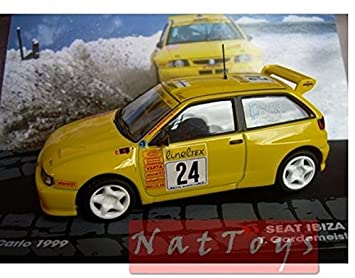 EDICOLA Seat Ibiza GTI Kit Car Montecarlo 1999 Model Die Cast 1:43 Ixo Passione Rally: Amazon.es: Juguetes y juegos