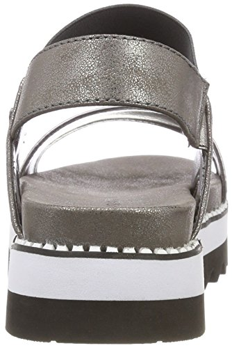 Bugatti Women's 411468815959 Ankle Strap Sandals Grey (Grey / Grey 1515) sale clearance store discount shop for free shipping 100% authentic store online shopping online for sale 5nLYO
