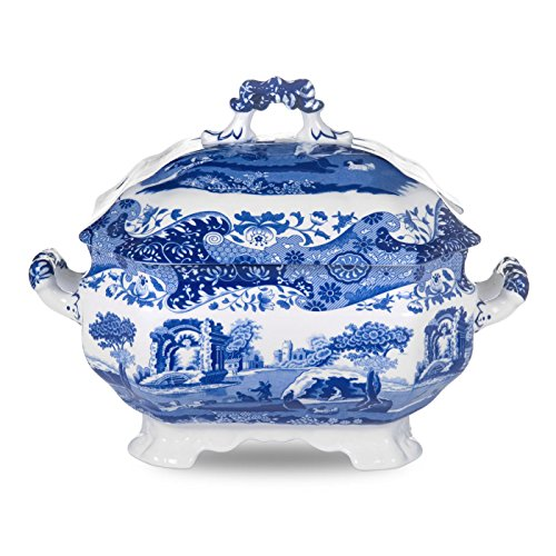 Blue Italian Soup Tureen, Blue & White