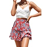 Iuhan Teen Girl's Summer Cami Crop Tops, Fashion Women Sexy V-Neck Vest Solid Color Loose Wrapped Chest Tank Tops Blouse