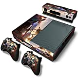 Mod Freakz Console and Controller Vinyl Skin Set - Racing Street Cars for Xbox One