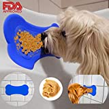CRFX Dog Lick Pad for Easy and Funny Bath - Dog Shower Peanut Butter Slow Treater Pad Attachment - Bath Buddy Grooming Treat Dispensing Accessories - Prime Quality Distraction Suction Toy