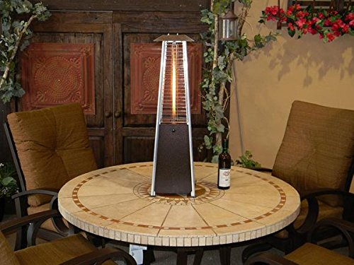 FIREPLACE CLASSIC PARTS Patio Heater Hiland Table Top Glass Tube Heat Shield FCPGTTHP-Shield by FIREPLACE CLASSIC PARTS (Image #3)