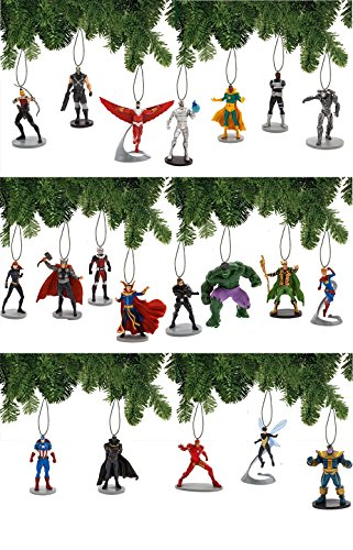 Marvel Avengers Mega 20 Piece Ornament Set -