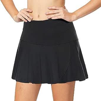COOrun Women's Active Skorts Pockets Running Skirt Lightweight Skirt Tennis Golf Workout Sports