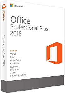 Microsoft Office 2019 Professional - License - 1 Device - Download - All Languages - PC