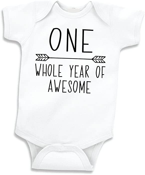 Boy Birthday Shirt Baby First Bodysuit