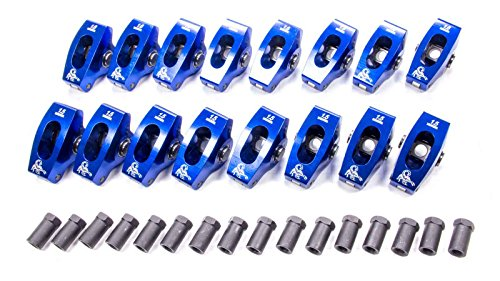 Scorpion Performance 1028 1.5/1.6 Ratio Roller Rocker Arm for Small Block Chevy - Pack of 16