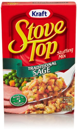 Stove Top Stuffing Mix, Traditional Sage, 6 Ounce Box