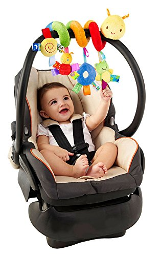 VEBE Multi-function Bedroom Decoration Infant Baby Activity Spiral Bed & Stroller Toy & Travel Activity Toy by VEBE