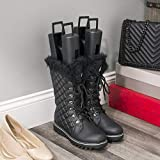 Home Basics Boot Shapers Comes With Top Hook for