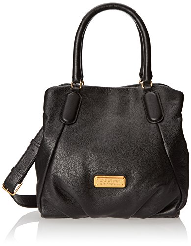 Marc by Marc Jacobs New Q Fran Shoulder Bag, Black, One Size (Marc By Marc Jacobs Classic Q Baby Groovee)