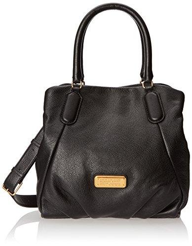 (Marc by Marc Jacobs New Q Fran Shoulder Bag, Black, One)