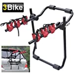 SWT 3 Bicycle Carrier Car Rack Bike C...