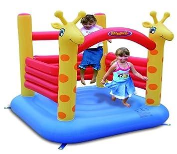 Mini Castillo Hinchable - Giraffe Jumping Castle: Amazon.es ...