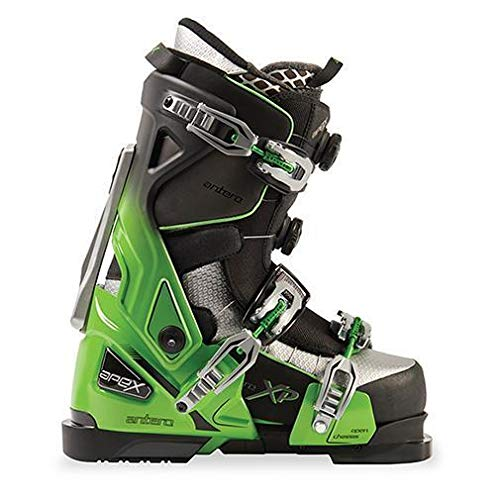 Apex Ski Boots Antero Big Mountain Ski Boots (Men's Size 25) Ski All Day in Comfort in a Walkable Boot System with Open-Chassis Frame for Advanced/Expert -