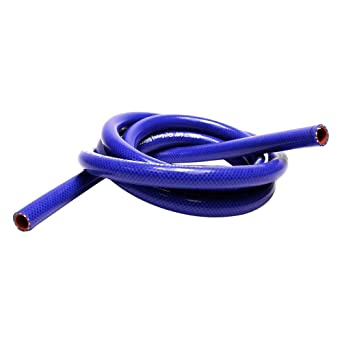 HPS  HTST-3F-075-BLUE High Temperature 4-Ply Reinforced Silicone Coolant Tube Hose Blue 75 psi Maximum Pressure 3//4 ID 3 Length