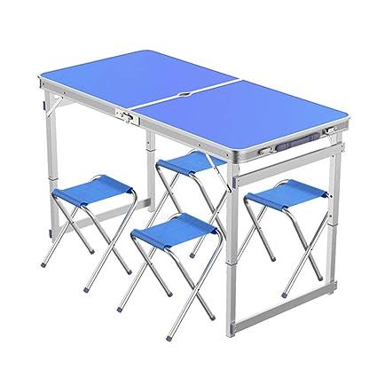 Mesa plegable al aire libre,La mesa plegable portátil con ...
