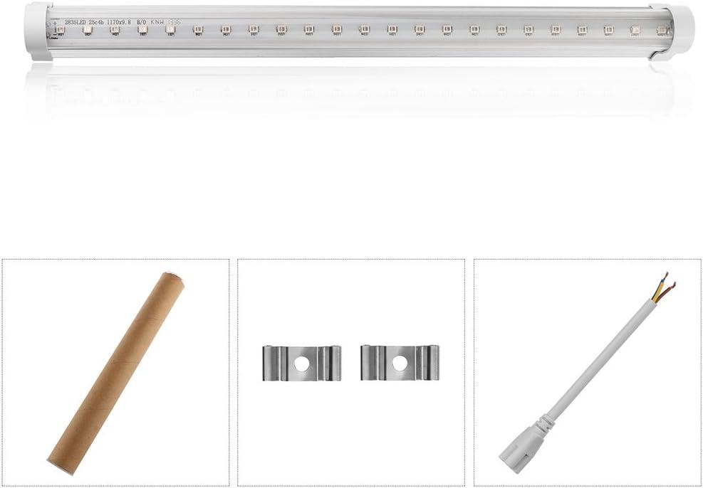 Vvciic 30cm LED keimt/ötende UV-Lampe UV-Licht Bar Sterilamp Fresh Air 2835SMD f/ür Badezimmer K/üche Toilette Schlafzimmer AC 85-265V