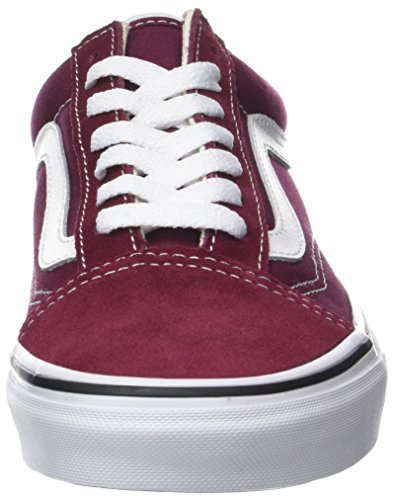 Vans Classic White Skate Burgundy Skool Old True Shoes Unisex zq8rznt