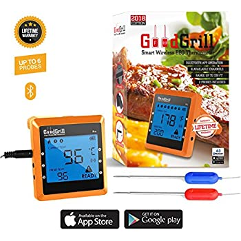 Amazon Com Tappecue Wifi Meat Thermometer For Grilling