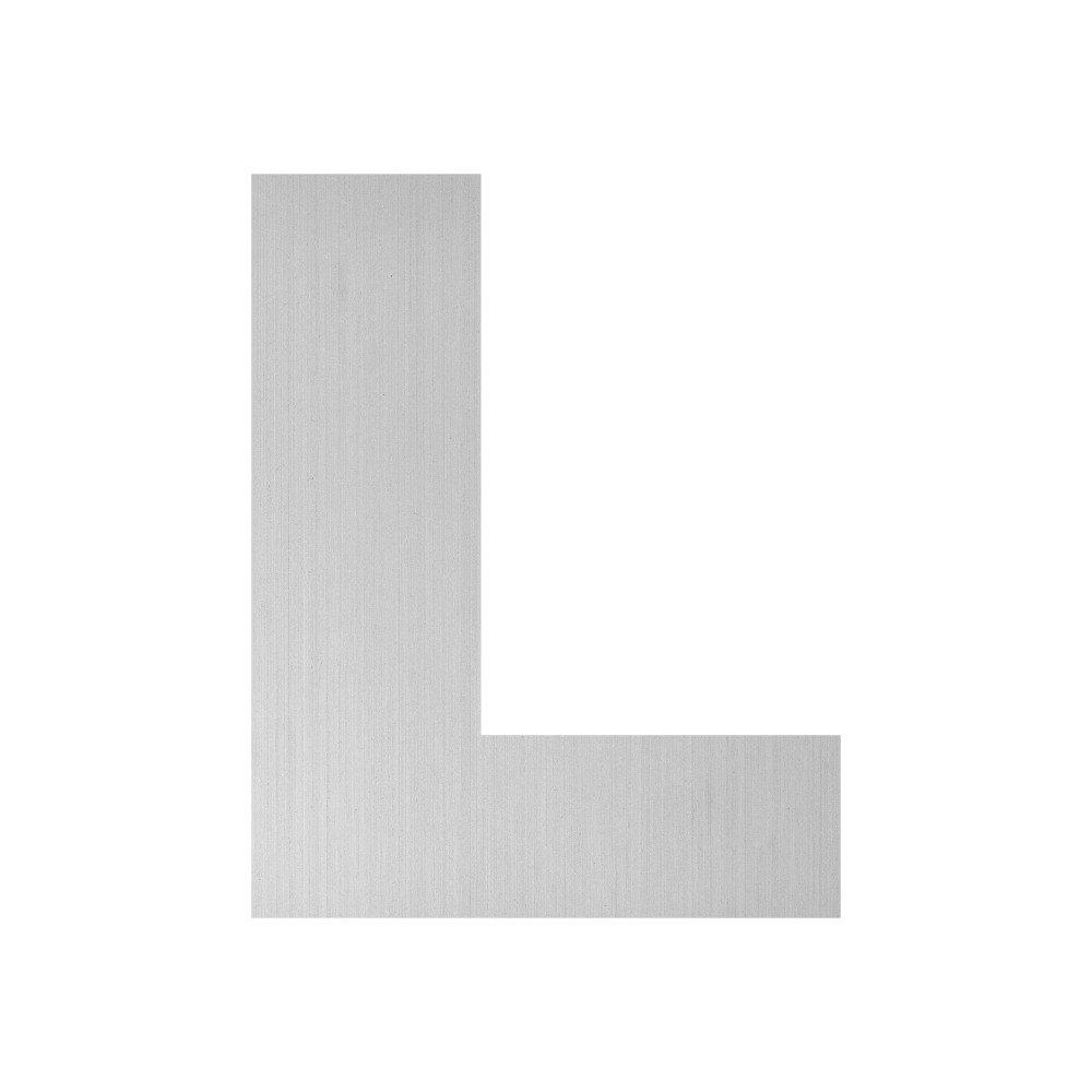 Eurolaton 1608662A01 8662A-Letra L Adhesiva may/úscula Grande