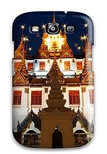 3666274K71064020 Galaxy High Quality Tpu Case/ Wat Ratchanaddaram Case Cover For Galaxy S3