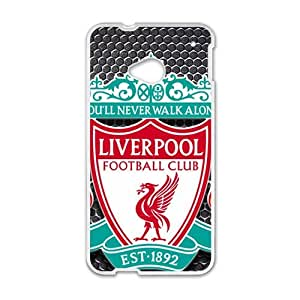 Loverpool Football Club White htc m7 case