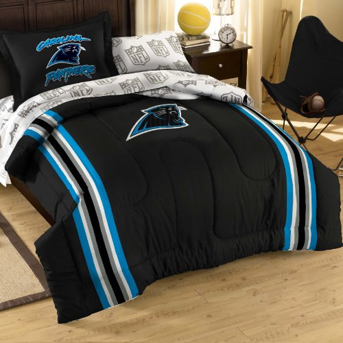 The Northwest Company NFL Carolina Panthers Twin/Full Size Comforter with Sham Set