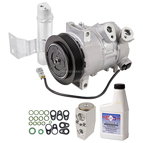 AC Compressor w/A/C Repair Kit For Dodge Caliber & Jeep Compass Patriot - BuyAutoParts 60-81804RK New ()