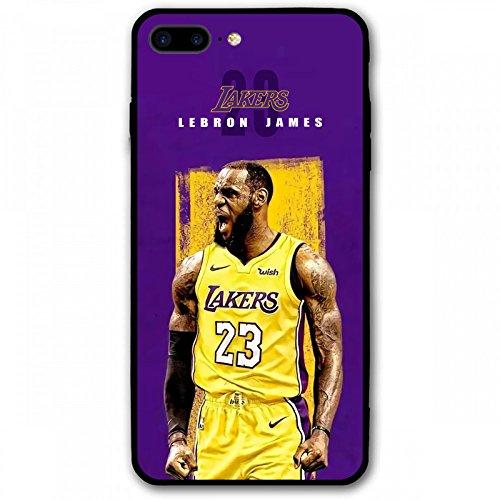 iPhone 7 Plus Case iPhone 8 Plus Case,Labron Anti-Scratch Slim Cover Case Fashion Custom (LA Lebron)
