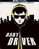 Baby Driver 4K Exclusive Steelbook (4K Ultra HD+Blu-ray+Digital)