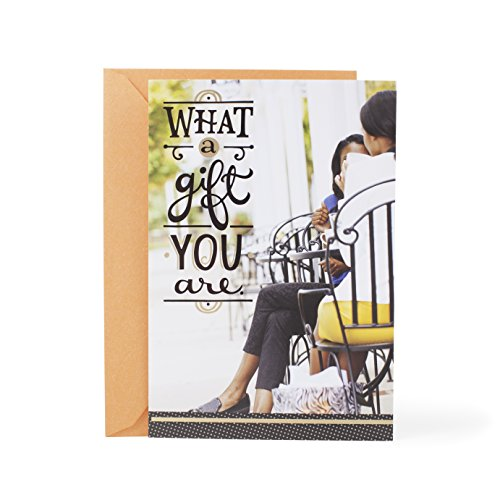 Hallmark Mahogany Thank You Greeting Card (What a Gift You Are)