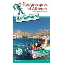 ÎLES GRECQUES ET ATHÈNES 2016 (SANS LA CRÈTE ET LES ÎLES IONIENNES) + PLAN DE VILLE