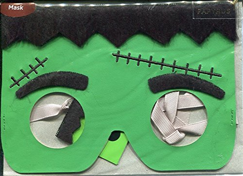 Frankenstien Mask (Greeting Card Halloween