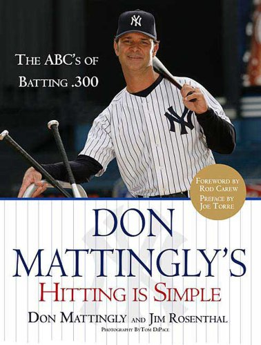 Rod Carew Hitting (Don Mattingly's Hitting Is Simple: The ABC's of Batting .300)
