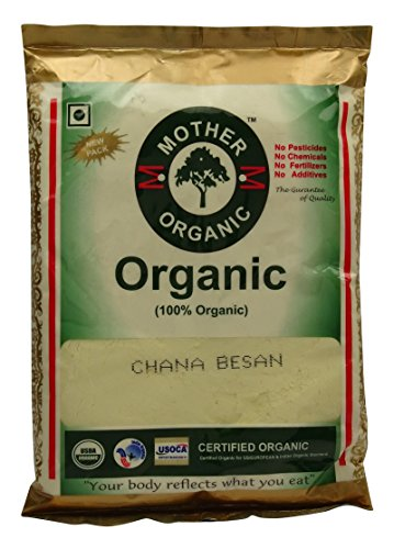 Mother Organic Gram Chickpea Flour Chemical Free USDA Certified Choose (Mother Chicks)