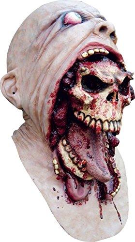 Blurp Charlie Mask (Blurp Charlie Demon Zombie Mouthburster Deluxe Adult Halloween Costume Mask)